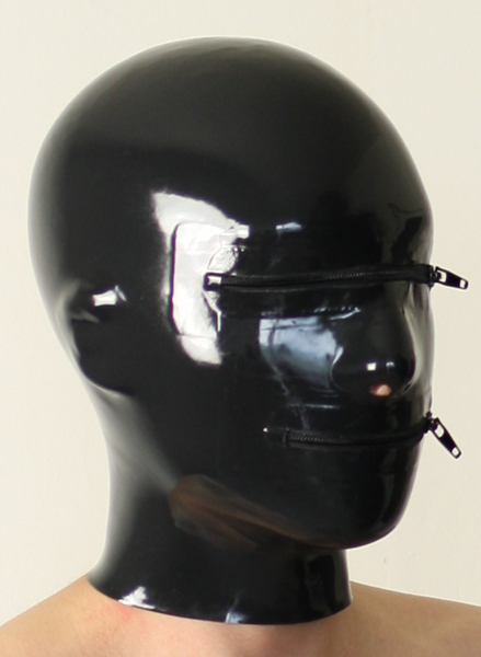 latex fetish masks